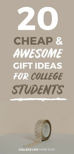 Gift Ideas For College Students 20 That Girls LOVE To Get