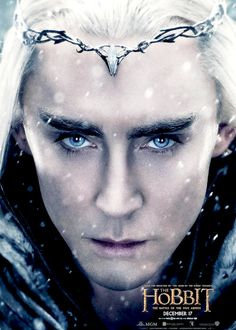 Thranduil poster for The Battle of the Five Armies <3 #thehobbit #leepace