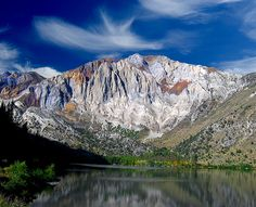 Convict Lake, CA.  One of the best places ever... Takes breath away, and the fishing is good too