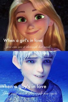 *not my caption but i agree* I didn't know I kind of shipped this 'til this moment. Disney Pixar, Disney Memes, Disney Quotes, Disney And Dreamworks, Disney Art, Create A Person, Jack Frost And Elsa, Rise Of The Guardians, The Big Four