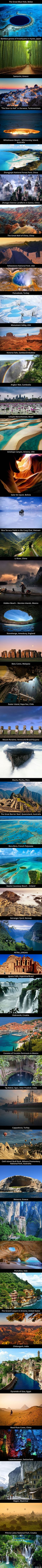 45 Stunning Places Around The World