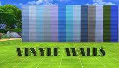 Vinyle Walls by Simalicious at Mod The Sims • Sims 4 Updates