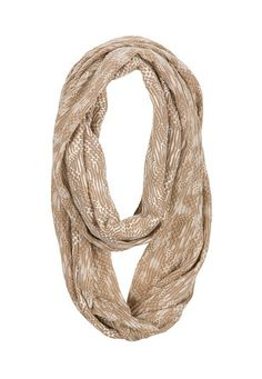 Marled Stripe Infinity Scarf (original price, $14) available at #Maurices