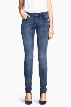 OTOÑO 2014 Vaqueros Skinny Regular 29,99 € COLOR: Azul H&M