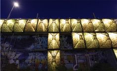 Parasite Tent Pods: Vertical Urban Wall Homes for Homeless