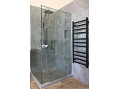 Frameless Glass Shower - Corner Square