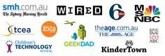 INKids make creative classroom game apps for pre-K and elementary / primary schools and have been featured on Wired, CTR, SMH, ABC6 and more!