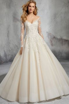 Wedding Dress Laurel 8281 by Morilee by Madeline Gardner - Search our photo gallery for pictures of wedding dresses by Morilee by Madeline Gardner . Find the perfect dress with recent Morilee by Madeline Gardner photos. Discount Designer Wedding Dresses, Wedding Dresses 2018, Wedding Suits, Gown Wedding, Diy Wedding, Wedding Ideas, Lace Gown Styles, Dress Styles, Plus Size Formal