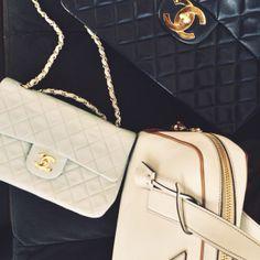 Chanel is always necessary. #NYFW #MBFW #BellaBag