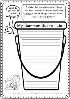 Summer Writing Printables for K-1 http://www.teacherspayteachers.com/Product/Summer-Writing-Worksheets-K-1-73-pages-708447
