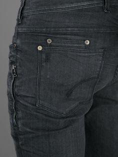 Neil Barrett Slim Fit/Regular Rise Jeans
