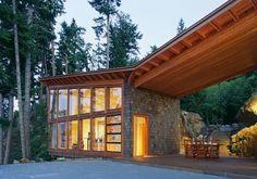 Home decor canadian lake house design best retreat location architecture… Architecture Design, Timber Architecture, Contemporary Architecture, Contemporary Homes, Beautiful Architecture, Home Design, Modern House Design, Design Ideas, Modern Lake House
