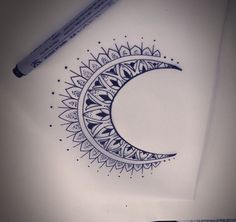2016-17 Moon Tattoo Designs Pictures Ideas | Tattoozat