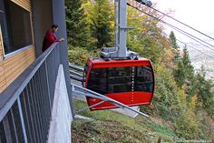 Adliswil-Felsenegg cable car in Zurich 2017 Zurich, Car Ins, Switzerland, Cable, Round Round, Nature, Cabo, Electrical Cable