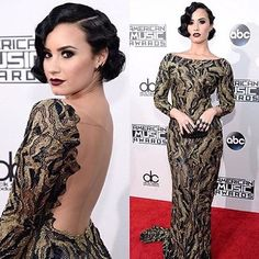 One of our favorites of the night was Demi's gorgeous 1920s inspired look.  She looked absolutely perfect, like she stepped right out of The Great Gatsby. What are you thoughts on her flapper style look? Let us know! To follow Demi: Twitter: @ddlovato Instagram: @ddlovato Facebook: @DemiLovato  Photo: Demi Lovato/Instagram