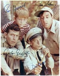 Andy, Barney, Gomer, Opie