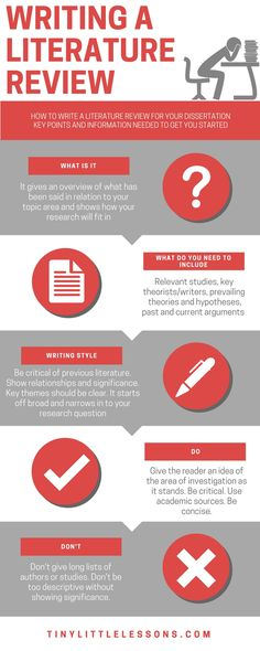 WRITING A LITERATURE REVIEW - tips tricks blog post - advice for students university college dissertation research paper review