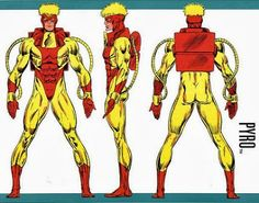 ¿Quien es quien? DC Comics: Universo Marvel Hombres X