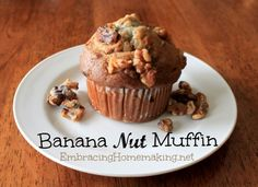 Banana Nut Muffins | Recipe Devil