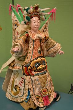 The City Dweller: Center for Puppetry Arts, Atlanta Puppetry Arts, Atlanta Eats, Chinese Opera, Asian Doll, Puppets, Harajuku, Sculpture, Dolls, City