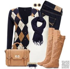 17. #Perfect Color #Palette - 31 of the Best Ways to Wear Argyle That You'll Ever See ... → #Fashion #Sugar