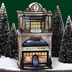 """Department 56: Products - """"Lafayette's Bakery"""" - View Lighted Buildings  wish list"""