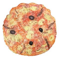 Pizza Novelty Round Pillow
