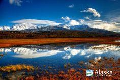 A fall day at Potter Marsh near Anchorage, Alaska. (2012)