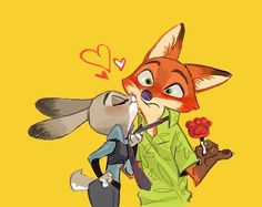 The name's Nick Wilde. I work alongside my partner Judy Hopps in Zootopia. __________________________________ This is a fan account involving the Disney movie Zootopia. Zootopia Comic, Zootopia Fanart, Nick Wilde, Walt Disney, Cute Disney, Disney Art, Disney And Dreamworks, Disney Pixar, Zootopia Nick And Judy