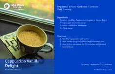 Cappuccino Vanilla Delight! #TSFL
