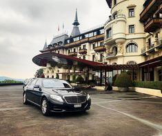 Mercedes S350 in front of The Dolder Grand in Zurich Zurich, Mansions, House Styles, Instagram Posts, Manor Houses, Villas, Mansion, Palaces, Mansion Houses
