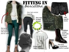 what to wear in barcelona - Google Search