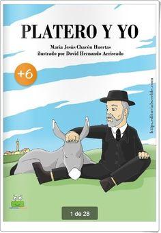 """Platero y yo"" de Juan Ramón Jiménez (Adaptación infantil de María Jesús Chacón Huertas)"