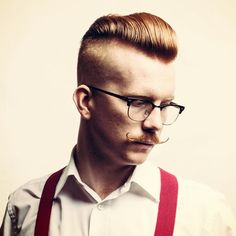 Disconnected Pompadour  More Hairstyle for man : http://newhairstyles4man.blogspot.com/