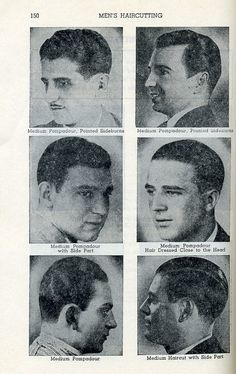 1920 Hairstyles Men   Google Search