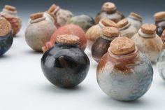 pinch pot bottles | Found on cassiusclay.dk