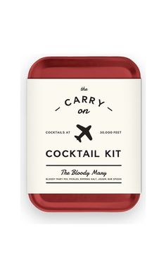 W&P Design Bloody Mary Carry On Cocktail Kit MAS CARRY KIT BM Best Price