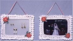 Click the banners below for more popular patterns, available via mail or download! Picture Frame FP378 Easy Skill Original Design By:Maggie Weldon Size:About 7½