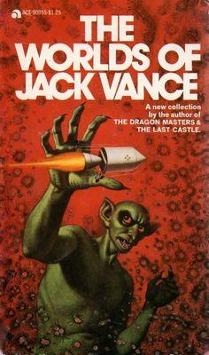 90955 JACK VANCE (aka JOHN HOLBROOK VANCE) The World of Jack Vance (December 1973; 1st ACE printing).#