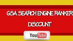 GSA Search Engine Ranker Discount | Discount  GSA Search Engine Ranker