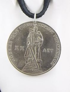 Soviet Coin Necklace 1 Ruble Coin Pendant by AutumnWindsJewelry
