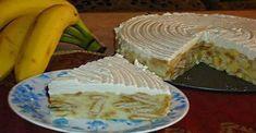 Letná, nepečená, studená torta s banánom: Jednoduchá, VÝBORNÁ maškrta! - Recepty od babky Torte Recepti, Kolaci I Torte, Pie Cake, No Bake Cake, Delicious Desserts, Yummy Food, Quick Cake, Bulgarian Recipes, Cake Business