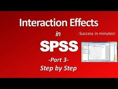 Interaction effects - Two Way ANOVA (Part 3)