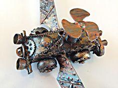 Butterflies N' Buttons: Steampunk flying car #decoartprojects #decoartmedia #mixedmedia