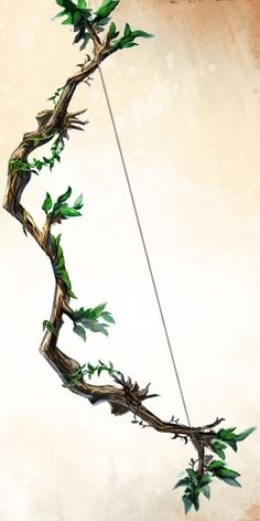 Lulliad. A mythic Elvin artifact, the arrows of this bow heal instead of harm their target.
