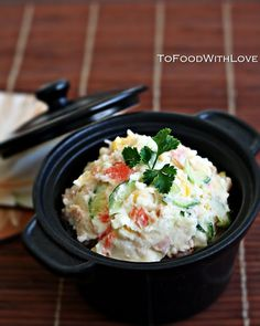Recipe: Japanese Potato Salad