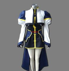 Relaxcos Magical Girl Lyrical Nanoha Nanoha Takamachi Cosplay Costume ** Check this awesome product by going to the link at the image.