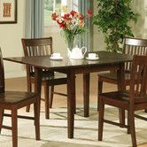 """Norfolk Dining Table - $167.28 each - solid asian hardwood - has butterfly leaf in center of table to get it to 54"""" so will have lots of lines on tabletop - dimensions 54"""" L x 32"""" W x 29.5"""" H so can use regular chairs.  Currently IN stock."""