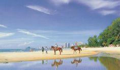 Looking forward to riding horses on the beach at Hua Hin, Thailand. http://www.trish120.wordpress.com