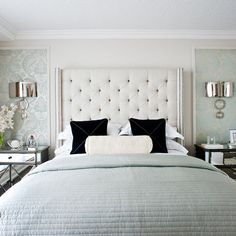 Contemporary Bedroom Design, Pictures, Remodel, Decor and Ideas - page 32 Home Bedroom, Bedroom Decor, Bedroom Ideas, Calm Bedroom, Master Bedrooms, Dream Bedroom, Bedroom Colors, Bedroom Furniture, Home Interior